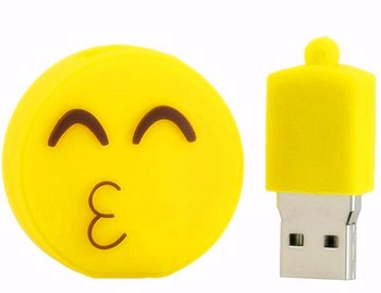 USB stick usb 2.0 real capacity Emoji emotion expression USB flash drive pen drive 1gb-64gb memory Stick