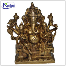 The factory supplies brass ganesh statue NTBS-161Y
