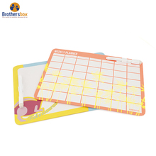 Custom high quality kids dry erasable magnetic writing board