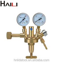 Zinser full brass oxygen gas regulator/acetylene gas regulator