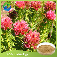 Pure natural rhodiola root extract 3% salidroside for anti depression