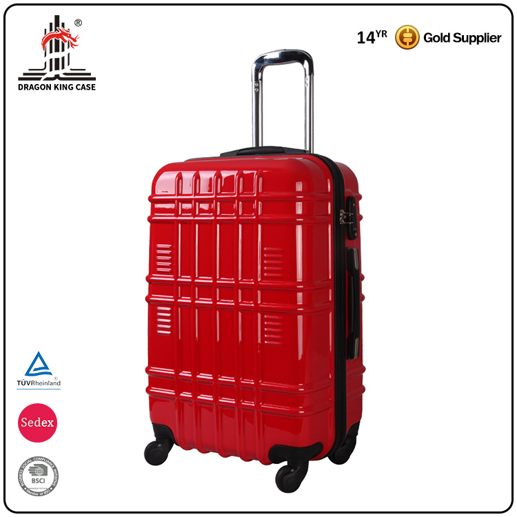 Hot Sell PC +ABS fashion trolley suitcase/ bag