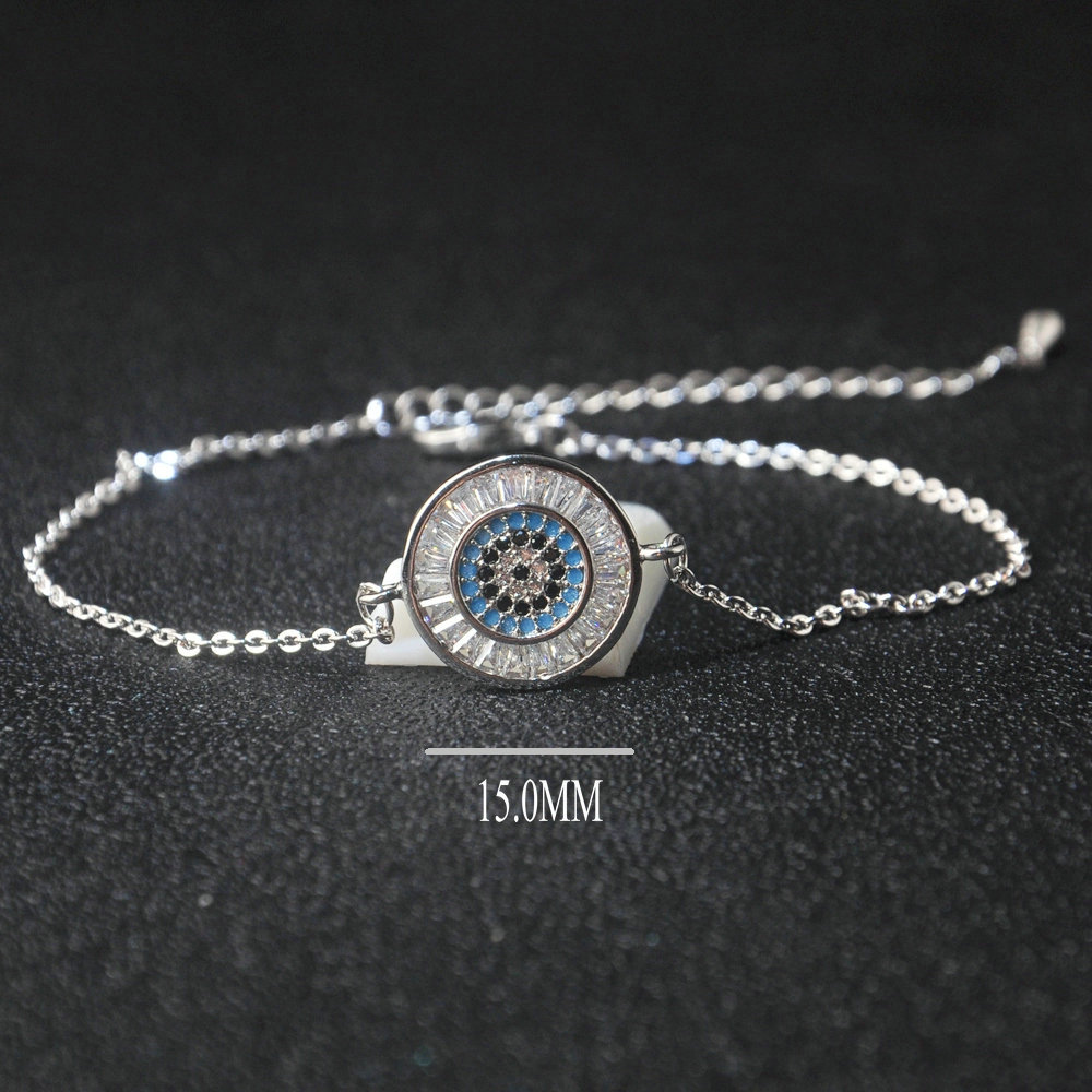 Wholesale Price Eye Jewelry Simple Turquoise Bracelet Jewelry For Women