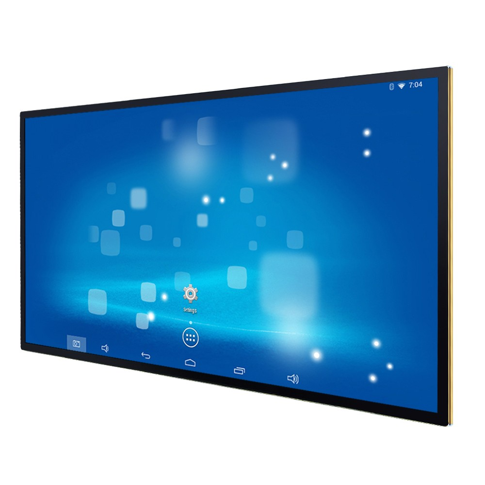 Widely advertising 4K Software Android touch wall mount 55 inch digital signage display in LED Displays