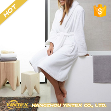 Waffle / Cotton Terry / Coral Fleece custom luxury star hotel best quality comfort bathrobe for women and men