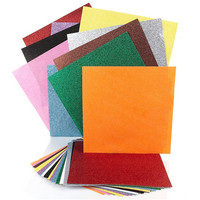"Free sample available 12*12"" craft paper glitter scrapbook paper"