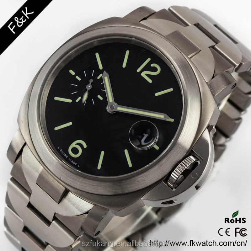 Stylish customized logo reasonable price vintage geneva quartz stainless steel watch