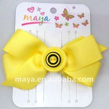 Fashion Fastener And Bow Hair Clip MY111105-8