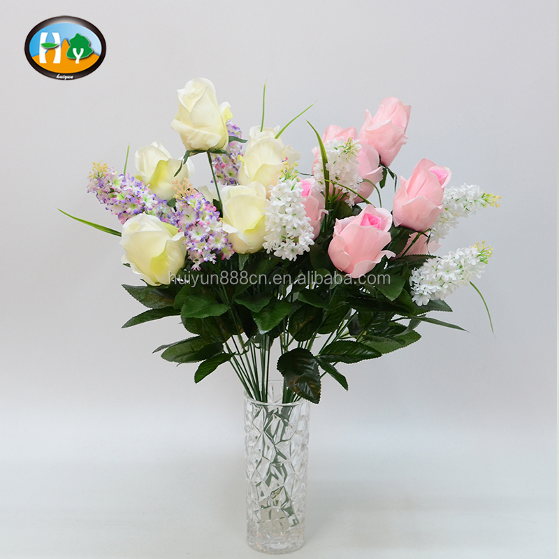 Cheap handmade artificial flower for grave decoration