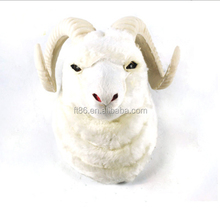2014 new multi-purpose realistic handicrafts wall hanging of goat head