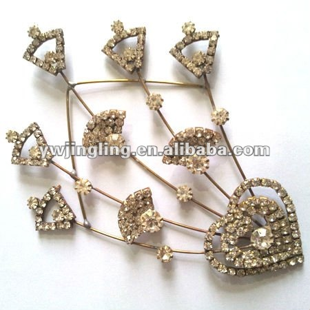 latest decorative hair comb