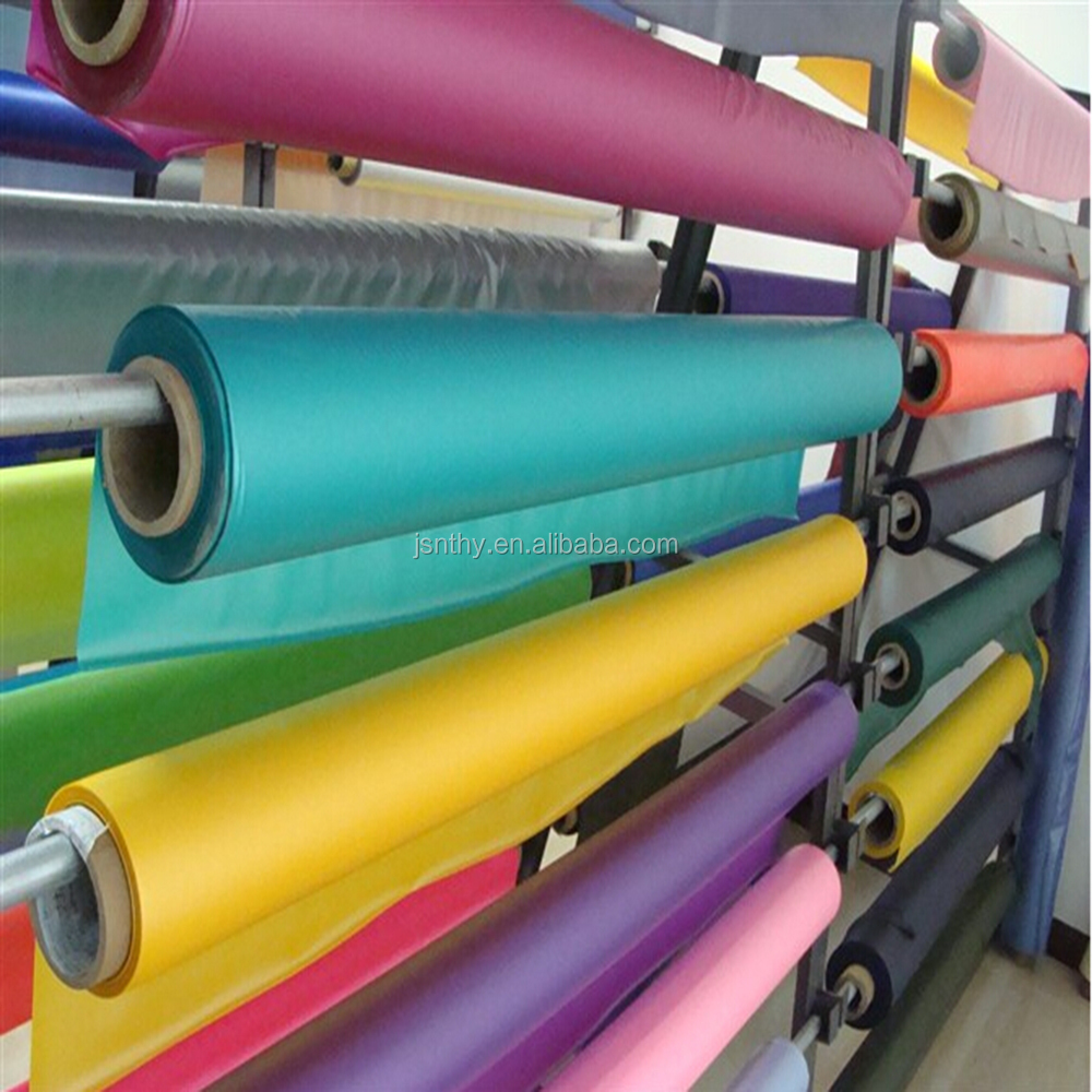 2015 China Jiangsu Supply PVC Colorful Translucent Frosted Film For Packaging Bag
