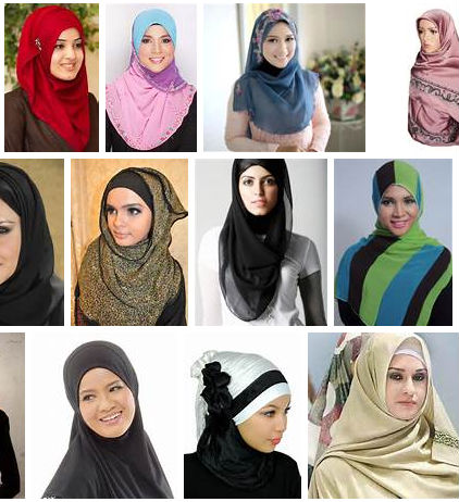 ISLAMIC HEADSCARF ONE PIECE LONG MUSLIM HIJAB