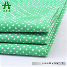 Mulinsen Textile Woven 100% Combed Poplin Printed Dotted Cotton Dress Fabric