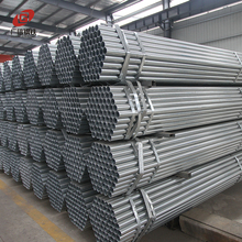 Round circular hollow section pre galvanized perforated steel pipe