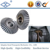 SB2-2040 JIS standard m2 20T cutting machine spur spiral bevel gear