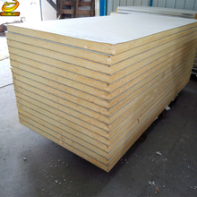 Aluminum rigid polyurethane foam insulated sandwich wall panels