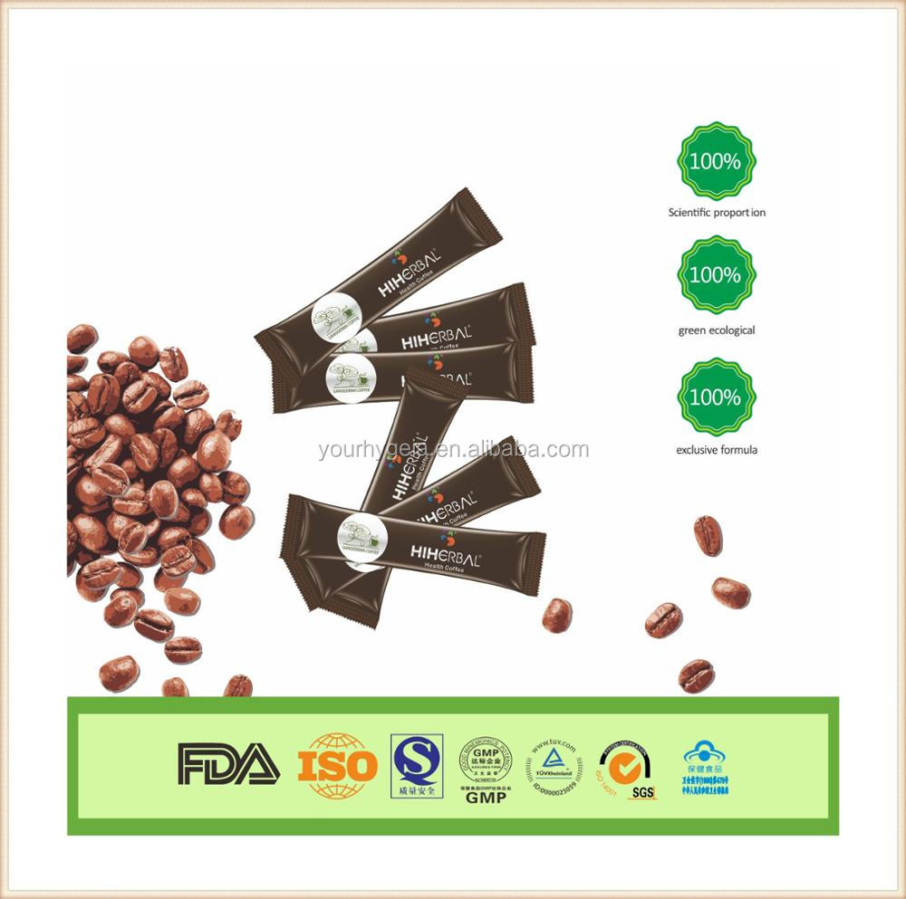 high quality ganoderma Herbal Healthy Gano Coffee