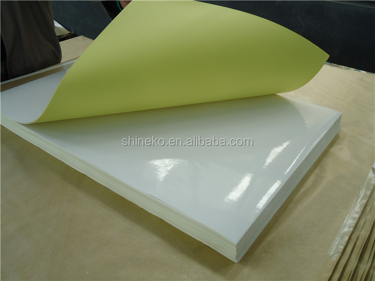 70*100cm size one sided adhesive paper sticker
