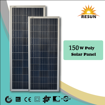 150watt best price per watt solar panels roof tile
