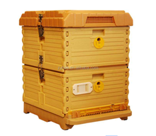 2017 New Type PP Plastic Bee box Bee hives/ Non-wood bee hive