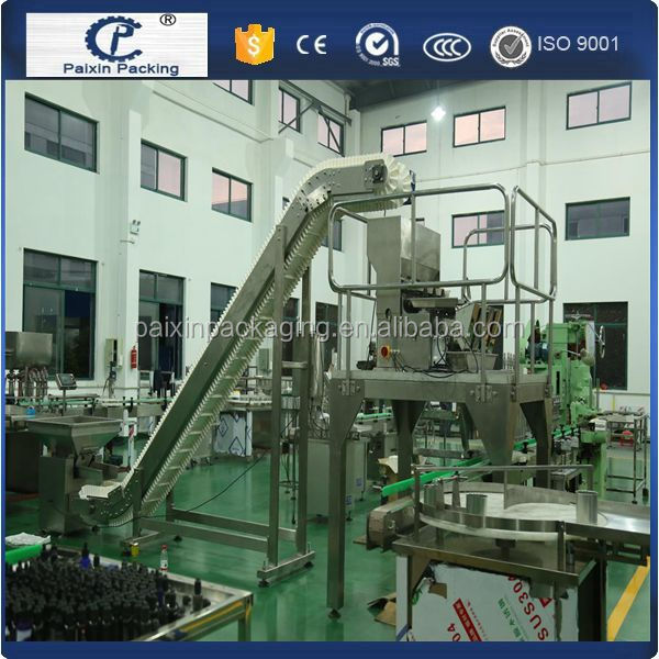 Shanghai manufacturers coffee bean weighing filling capping machine with labeling
