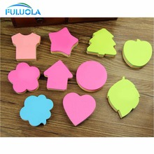 Apple shape sticky note paper memo pads