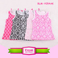 Wholesale children clothing cotton frock various style boutique print top & shorts set newborn baby wear girl camisole tank top