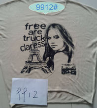 Printing free are truck claress of woman clothing fashion+sweater 9912#