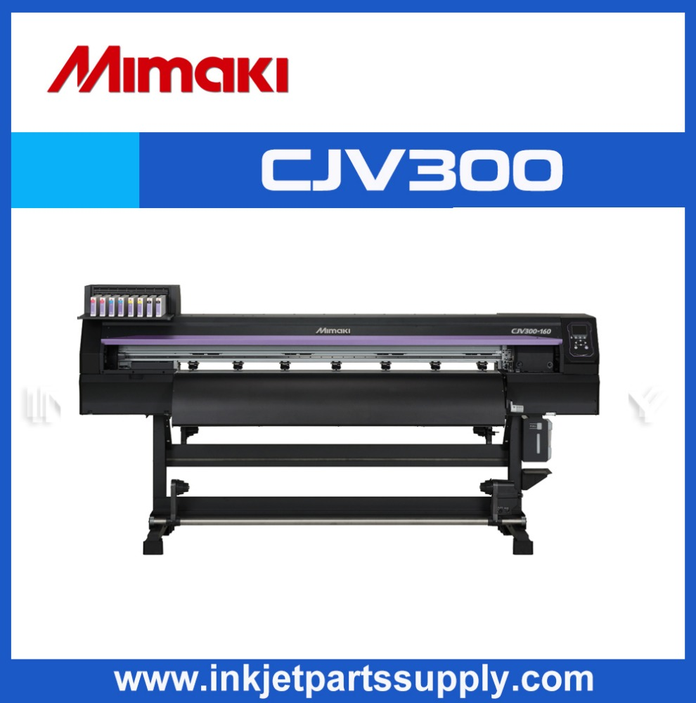 Inkjet printer/cutter with silver ink,Mimaki CJV300-160 printer