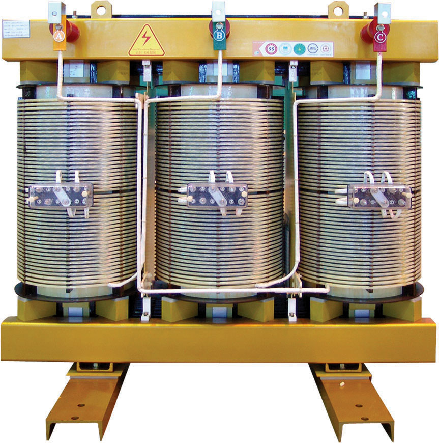 China supplier Two Winding Laminated Core 3 Phase Insulation Dry Type Transformer