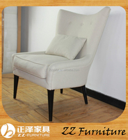 French Wooden upholstery home furniture Living Room baroque armchair