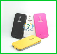 Waterproof dirtproof snowproof shockproof Case for Samsung Galaxy S4 PEPKOO