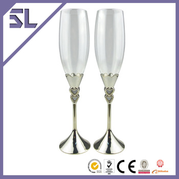 Wholesale Glass Water Goblets Custom Glass Goblet Water Goblets Sale For Wedding and Home Used