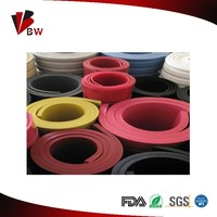 Colorful Industrial 3mm Thickness Silicone Sheet/rubber sheet