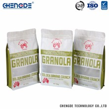 High Quality Factory Supply Custom Logo Granola Plastic Packaging Bags