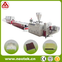 PVC based WPC Profile Vinyl Floor Extrusion Line