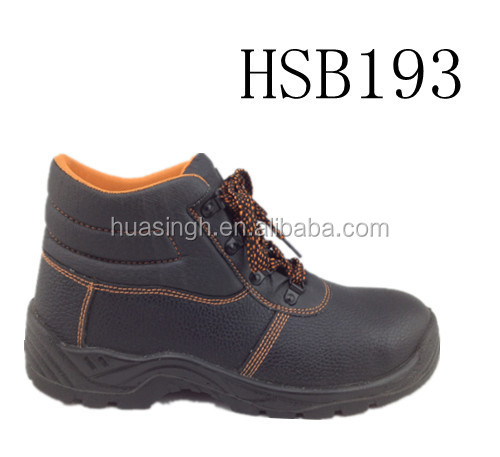 SL,outdoor heavy working equipment handmade in China anti-puncture construction shoes