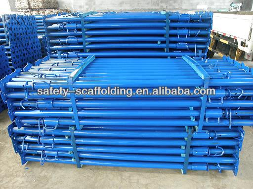 steel sleeve Shoring Props with blue color