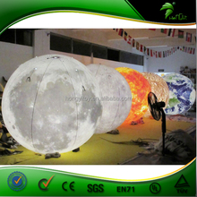 Inflatable Planets Balloon Party Decorations, Inflatable Led Balloon Light, Inflatable Light Helim Balloon