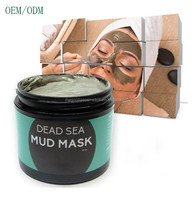 Organic Dead Sea Mud Mask For Pore Cleansing, Acne, Moisturizing & Wrinkle Reduction