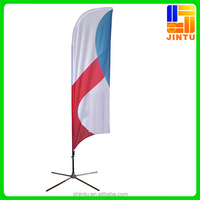 Cheap Waterproof Eco-friendly New Custom polyester flag fabric