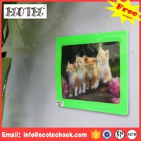 hot sale quality decoration MDF wood heart shape collage photo frame