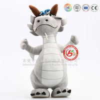 lively cartoon character plush toys dragon