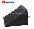 rubber wheel chock for heavy truck