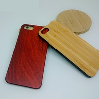 Custom bamboo cover case for iPhone 6 plus phone;strong defender for iPhone 6 plus wooden case