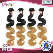 Two Tone Hair Extension Original Brazilian Humain Hair