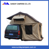 Single Layers and Canvas Fabric 4WD roof top tent
