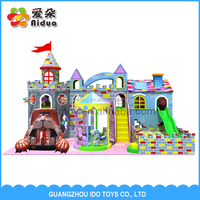 Dreamland Kids Modular Indoor Playground for Sale /Big Kids Playground Equipment