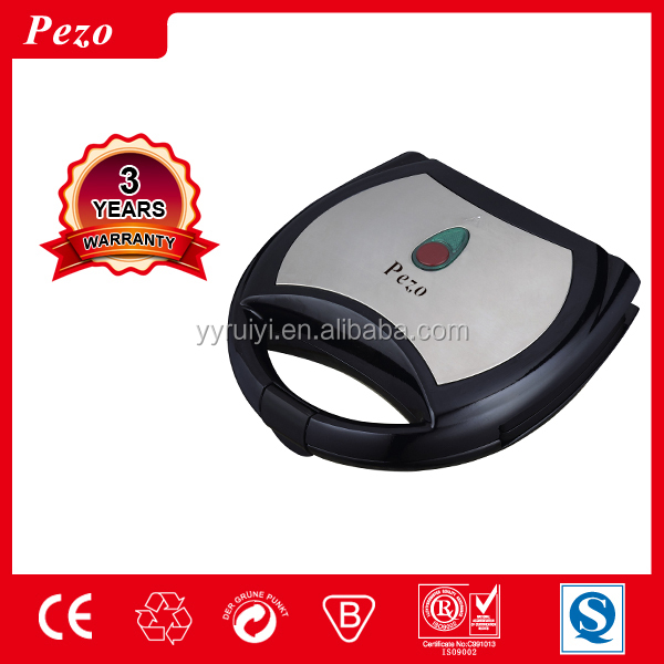 PEZO 2 slice stainless steel non-stick sandwich maker